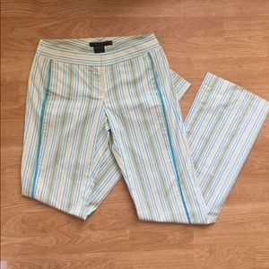 Laundry by Shelli segal pants striped trousers